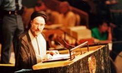 سید محمد خاتمی در سازمان ملل متحد