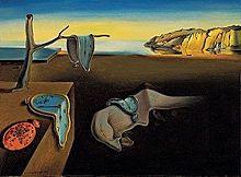 یک نقاشی سورئالیستی اثر سالوادور دالی