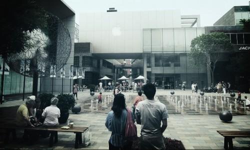 اپل در چین