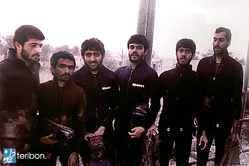 سعید جلیلی با لباس غواصی