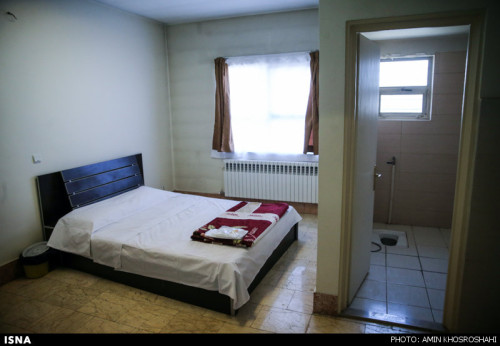 اتاق ملاقات شرعی زندان قزل حصار