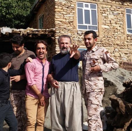مهران رجبی در اردوی جهادی